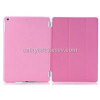 Magnetic Smart Cover + PC Back Cover Set For iPad Air