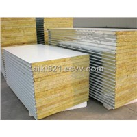 Metal Rock Wool Sandwich Roof Panel Wall Panel Rockwool Panel