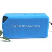 Mini bluetooth speaker ,with TF card hand handfree microphone ,Built-in Rechargeable polymer cell