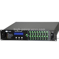 Multiport High Power Optical Fiber Amplifier Rack