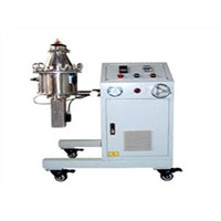 Nano meterial-polymer dispersion machine