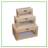 Natural and eco-friendly wooden gift boxes for sundries