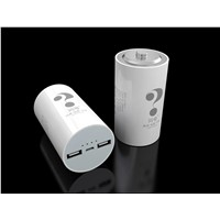 New 10,400mA Power Banks with Battery Shape and Dual-USB Output