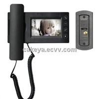 "New 4.3"" handset door phone with capture function JS-437R0"