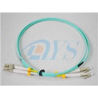 OM3 LC LC Fiber Optic Patch Cord