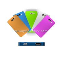 PB005/Ultra Slim Power Bank, Colorful, High Capacity and Efficiency, Fit for iPad
