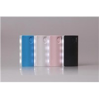 PB008/Fashion marquee mobile power bank 4800mah for all digital products