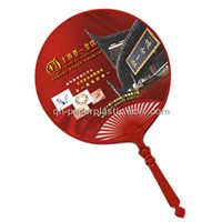 PP Fan/ PP Plastic Fans/ QH-SZ-033 PP Gift Fan/ Advertizing Gift Fan