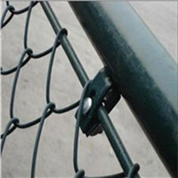 PVC chain link wire mesh fence factory
