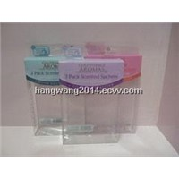 PVC packaging boxes