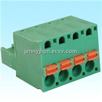 Pluggable type terminal blocks,5.08mm pitch,2-24 poles,black green or blue color housing