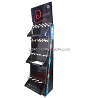 Point of purchase display stand with hooks