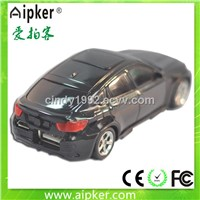 Popular gift wireless power bank car 4400mah with LED light