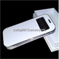 Power case S view cover with wakeup/sleep function  for Samsung Galaxy S4  3200mah