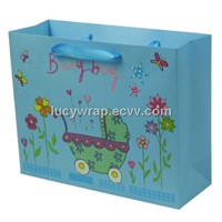 Printed Cute Paper Bag for Baby