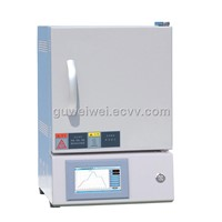Programmable ceramic muffle furnace for glass