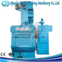 Q32 rubber belt shot blasting machine