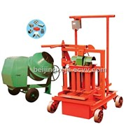 QM40A Egg Laying Concrete Hollow Block Making Machine
