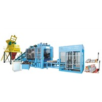 QTY6-16 Fully Automatic Hydraulic Automatic Block Making Machine Line in ZCJK