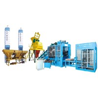 QTY6-16 Fully Automatic Paving Block Making Machine Color Paving Block Making Machine