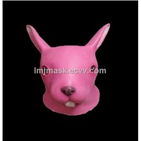 Rabbit latex mask