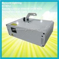 Remote Control 350mW Small RGB Animation Laser Light (BS-6011)