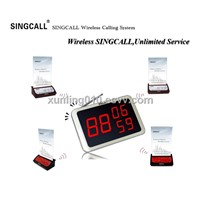 SINGCALL wireless calling system-multi-keys call button