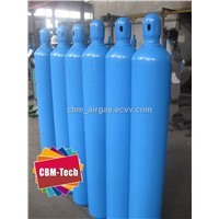 Seamless Steel High Pressure Oxygen Cylinder with cap