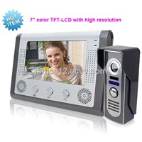 Security Communications Video Door Phone With Color Screen