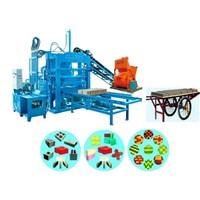 Semi Auto Multi-Functional Interlocking Block Machines (QTY4-20A)