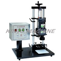 Semi-auto one head bottle capping machine