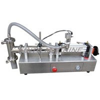 Semi-auto one/two nozzle semi-auto liquid filling machine