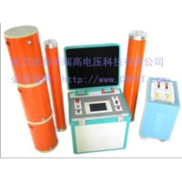 Series resonant frequency exchange of high-pressure test equipment pressure