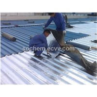 Single -side butyl  aluminum foil tape  USING for roof proofing and waterproofing