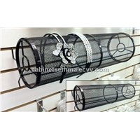 Slatwall Wire Mesh Headband Holder Hair Clips Display