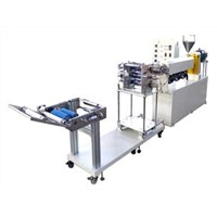 Small plastic sheet production line
