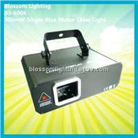 Sonic Lights 300mW Single Blue Motor Laser Light (BS-6006)
