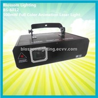 Stage Perform 500mW RGB Full Clor Animation Laser Light (BS-6012)