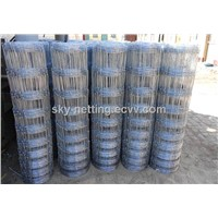 Stretching Field Fence Wire Hinge Joint Field Fence Wire Woven Wire Field Fence