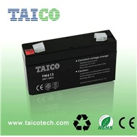 TAICO rechargeable small lead acid battery 6v 1.3ah