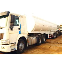 Sinotruk 30m3 Water Tanker Semi-Trailer, 3 Axles, Loading 30t-40t