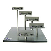 Trade show acrylic glasses display stand