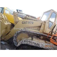 Used Original Caterpillar CAT 973 Crawler Loader