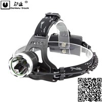 Waterproof Fixed Focus 10WCree Led Aluminium alloy Head Lamp