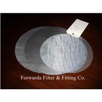 Wire Mesh Filter Disc, filter element