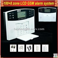 Wireless Home Security LCD display GSM Alarm System with remote control GSM-500