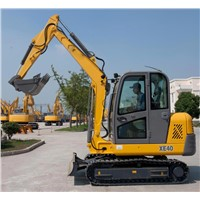 XCMG Brand Excvataor, Model XE80, Bucket Capacity 0.34CBM, Operating Weight 7425kgs