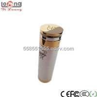 Yiloong tech manufacturer ecig mod with brushed body 18350 & 18650 mech I-Hybrid mod v2 (caravela)