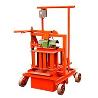 QM40A Zhongcai Jianke Hand Press Brick Making Machine