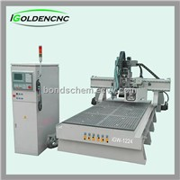 automatic tool change wood engraving machine